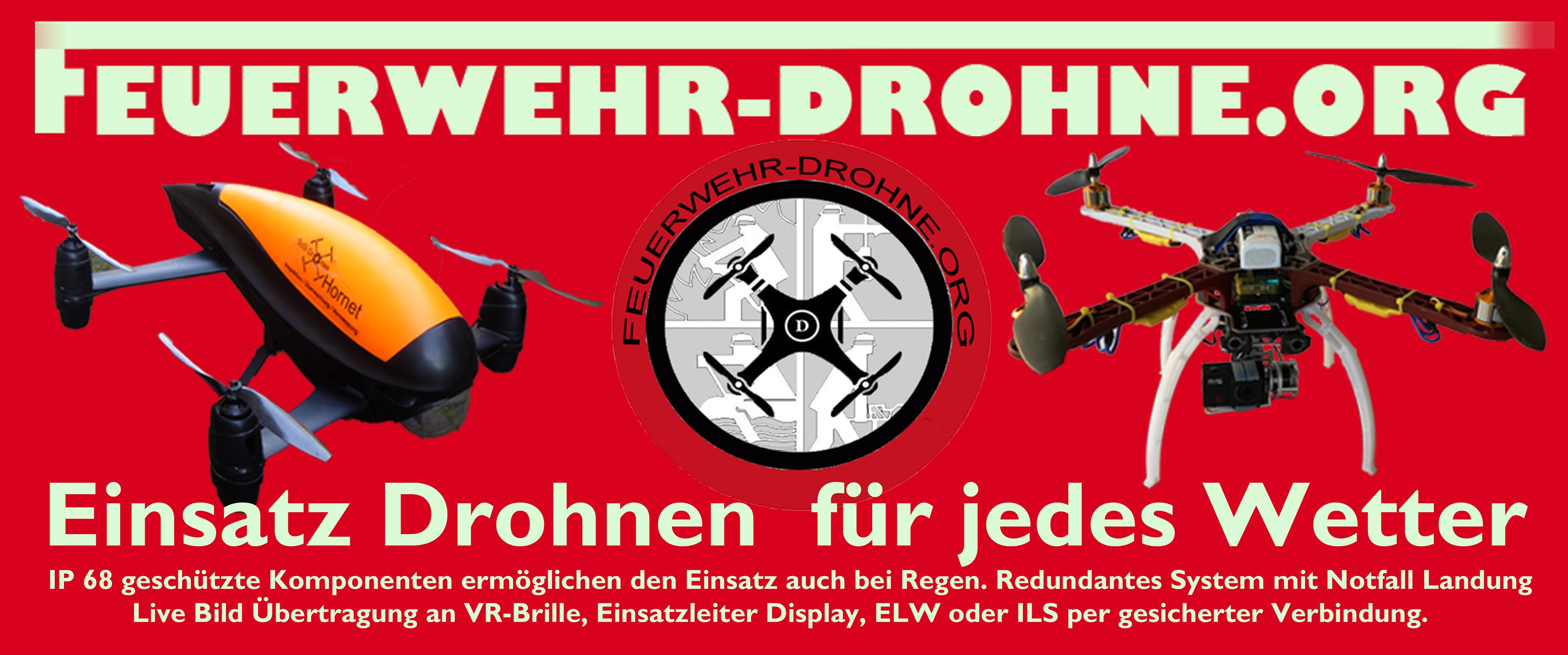 Feuerwehr Drohne.ORG